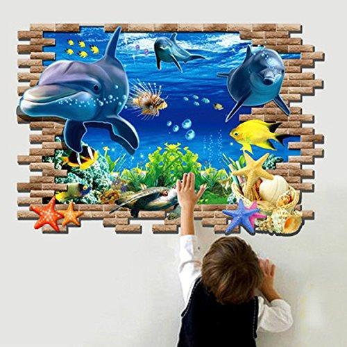 3d-blue-sea-world-dolphin-removable-wall-sticker-wallpaper-home-decor-3d-azul-del-mar-mundo-delfin-e