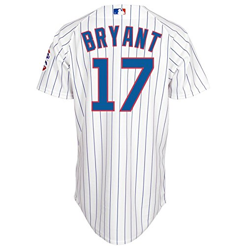 - Majestic Kris Bryant Chicago Cubs #17 Men's Cool Base Home Jersey (Xlarge)