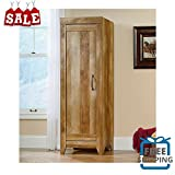 Oak Pantry Storage Cabinet Storage Laundry Closet Organizer Utility Bedroom Fit For Anywhere Kitchen Bedroom Child's Room One Door Accent & eBoook by BADA shop