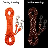 OFPUPPY Reflective Cat Tie Out Pet Rope Leash
