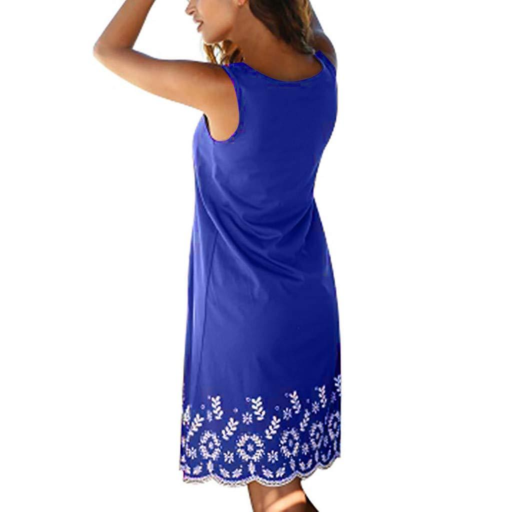 Homeparty Evening Party 2019 Beach Dress Short Dress Women Summer Sleeveless