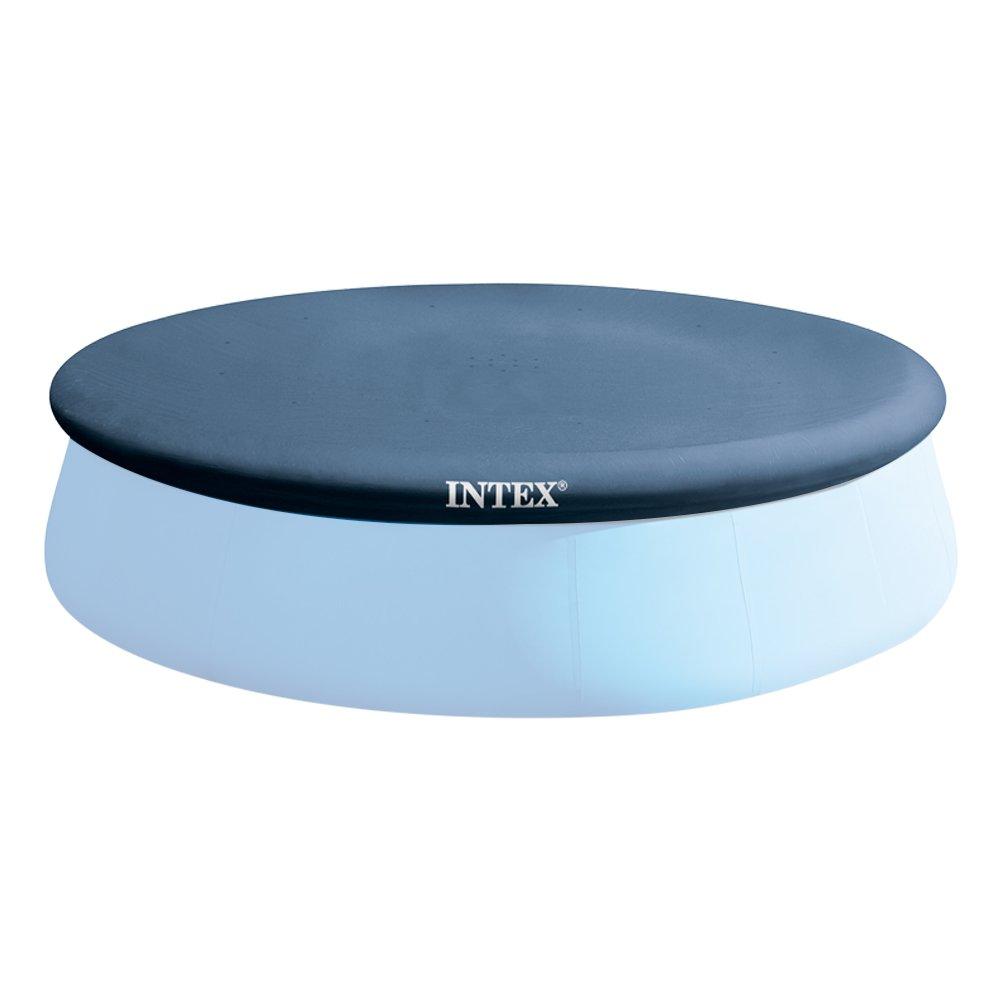 INTEX- Bâche, 28026, Bleu, 396cm