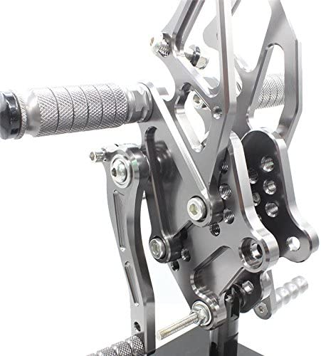 NINJA 300 2013-2018 FXCNC Racing Ninja 300 Billet Anodized Adjustable Motorcycle Rearset Foot Pegs Rear Set Footrests Fit For Kawasaki NINJA 250 2013-2016,Z300 2015-2018