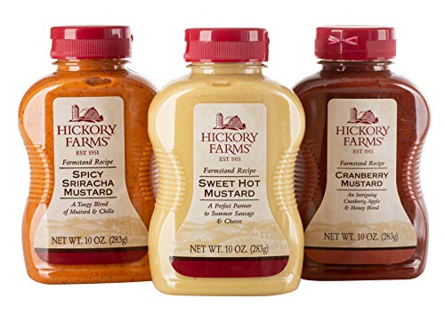 - Hickory Farms Favorite Flavors Mustard Collection