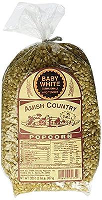 Amish Country Popcorn Baby White