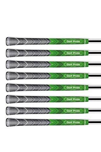 - Set of 8 - Golf Pride Multi Compound Plus 4 Family (Standard Green)