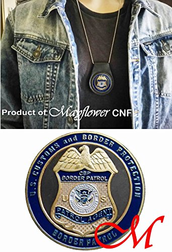 Mayflower CNF Coin &Leather Holder - U.S. Customs and Border Protection | Securing America's Border