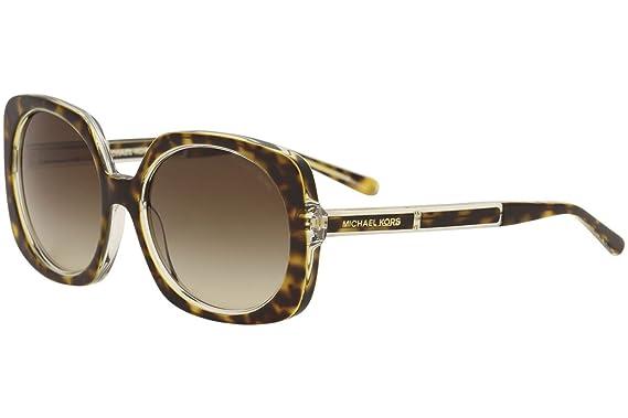 ce27df386e5 Michael Kors Women s Ula MK2050 55mm Tortoise Crystal Brown Gradient  Sunglasses