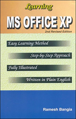 Learning MS Office XP PDF