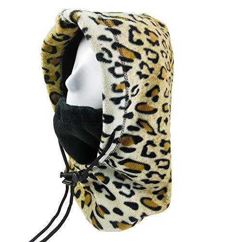 - INUPIAT Winter Balaclava Face Mask for Men Women Wind-Resistant Outdoor Ski Hat Neck Gaiter Scarf (Reversible, Adjustable)