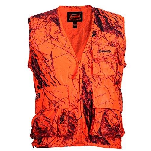 Gamehide Sneaker Vest, Naked North Blaze Camo, Naked North, XL