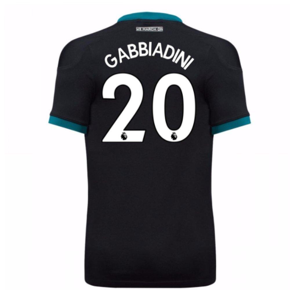 2017-18 Southampton Away Football Soccer T-Shirt Trikot (Manolo Gabbiadini 20)