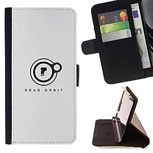 Momo Phone Case / Flip Funda de Cuero Case Cover - Orbit Dead;;;;;;;; - HTC One M9