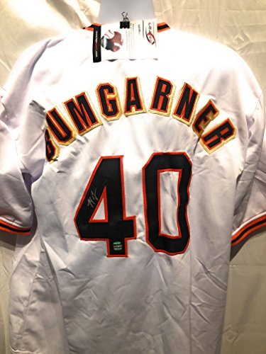 Francisco Autograph Giants - Madison Bumgarner San Francisco Giants Signed Autograph White Custom Jersey LoJo Sports Certified