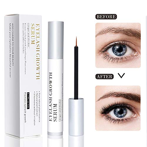 Bestidy Eyelash Growth Serum,Natural Brow Lash Enhancer(5ML),Nourish Damaged Lashes and Boost Rapid Growth for Any Kind of Lash and Brow Thick Looking Lashes and Eyebrows (Best Natural Lash Growth Serum)