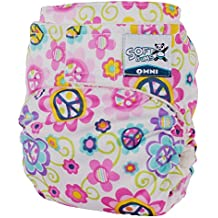 Softbums Omni Shell with Hook and Loop, Love Blossom