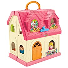 Fisher-Price Little People Surprise and Sounds Home, French