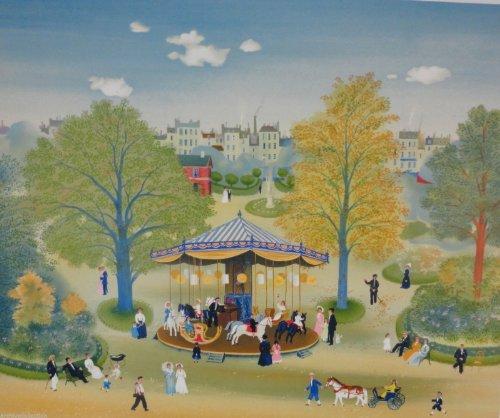 Carrousel (Paris Fine Art Print)