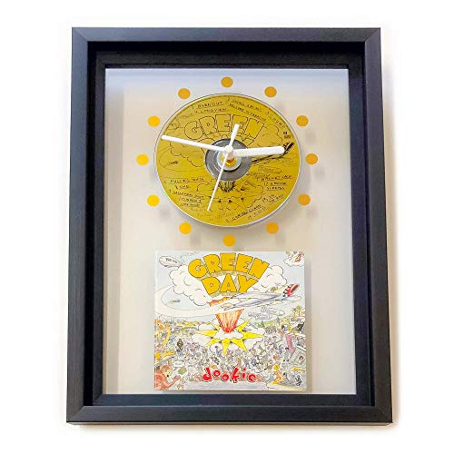 - GREEN DAY - Dookie: FRAMED CD WALL CLOCK/With Cover Art