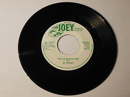 """Morena La Causa Fuiste / Pon La Manita Pon VINYL 7"""" 45 – Discos Joey"""