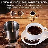 REDMOND Electric Coffee Grinder, Coffee Bean
