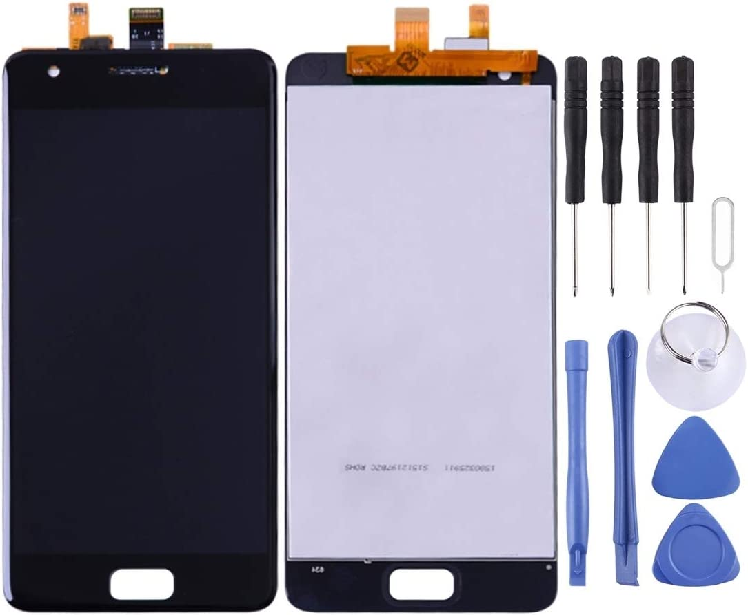 Zhouzl Mobile Phone LCD Screen LCD Screen and Digitizer Full Assembly for Lenovo ZUK Z2 (Black) LCD Screen (Color : Black)