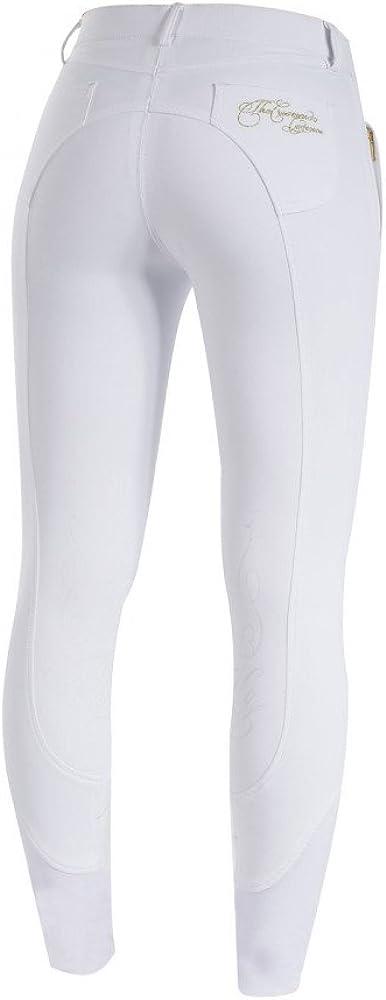 Snow White//Gold Size 28 HORZE Crescendo Kiana Womens Knee Patch Breeches