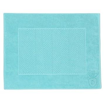 Toallas de algodón egipcio, Aqua azul, Descamps Aqua, Bath Mat, 60x80cm: Amazon.es: Hogar