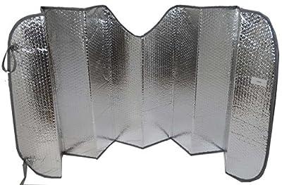 "ToolUSA Foldable Silver Car Windshield Sunshade Size: 23"" x 53"": TA-82340"