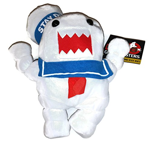 Halloween Domo Plush (Ghostbusters 10 Inch Stay Puft Marshmallow Domo Stuffed)