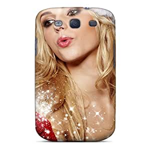 NikRun Fashion Protective Christmas Girl Case Cover For Galaxy S3