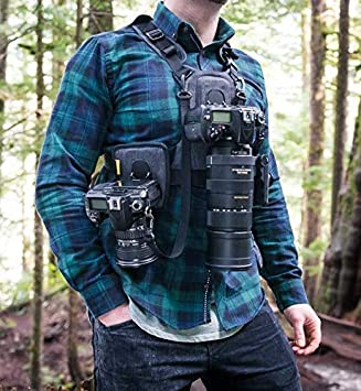 Cotton Carrier G3 147 - Arnés Profesional para una o Dos cámaras y ...