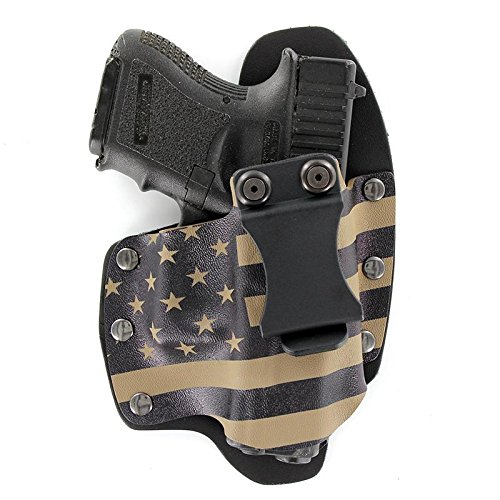 Concealment Springfield XDS 3.3 IWB Flat Dark Earth Fall fde KYDEX Holster Right