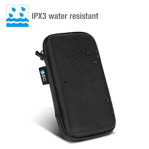 EC technologica potential Bank EVA backpack circumstance Pouch for 22400mAh External Battery Anker 16000mAh potential Bank Cables Customized Pouch massive circumstance using in Mesh Pocket Zipper Enclosure Hard obtain Bags Cases