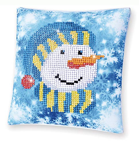 Diamond Dotz DDP2.034 Mini Pillow Snowman Cap