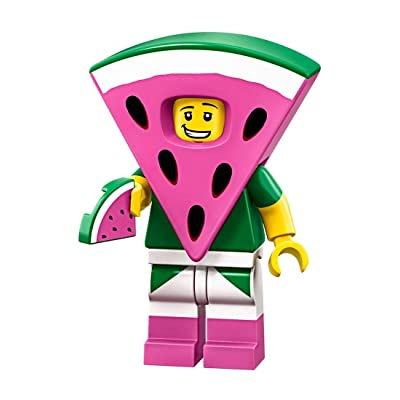 The LEGO Movie 2 Collectible MiniFigure - Watermelon Dude (Sealed Pack): Toys & Games