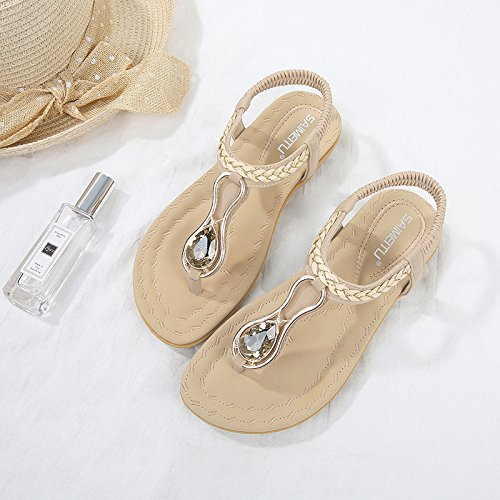 Chaussure Un Simple Plat Yalanshop 1color Fond Avec t Pour Femme En Dcontract AUqd76w