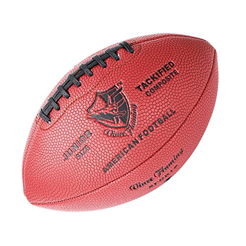 - Vince Flaming Junior Composite Football with Carrying Bag