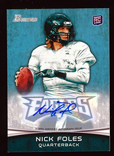 NICK FOLES 2012 BOWMAN AUTOGRAPH AUTO RC ROOKIE CARD *ST. LOUIS RAMS*