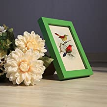 Solid wood table photo frame Creative simplicity photo frame Wall mounted picture frame L 10.2x15.3cm(4x6inch)