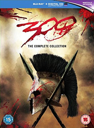 300 / 300: Rise of an Empire Double Pack [Blu-ray] [2007] [Region Free] -