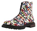 Rocket Dog Women's Lorena Clarissa Pu Ankle Bootie, Black/Multi, 8 M US