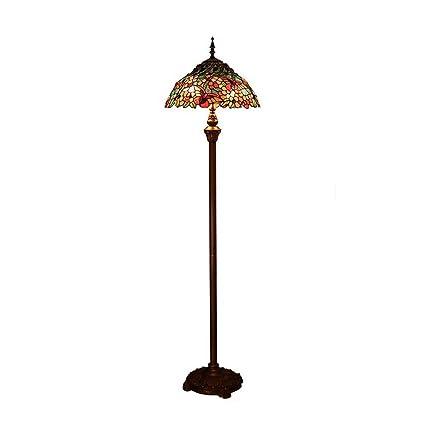 GAOLIQIN Lámpara de pie de Estilo Tiffany Lámpara de Mesa de ...