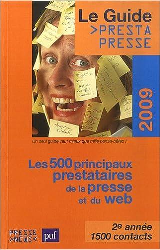Livres gratuits Le guide des prestataires de la presse : Prestapresse epub pdf