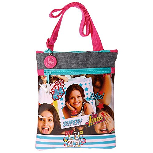 Disney Soy Luna Like Borsa Messenger, 24 cm, 0.24 liters, Multicolore (Multicolor)