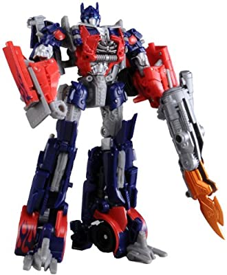 Transformers - Dark of the Moon - DA03 Mechtech Trailer - Optimus Prime Action Figure