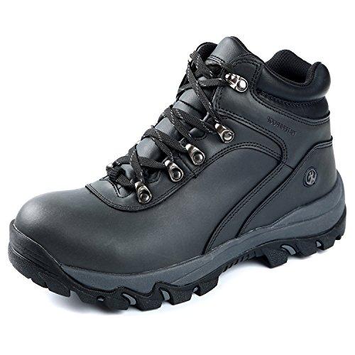 Northside Men's Apex Mid Hiking Boot, Black, 14 2E US by Northside