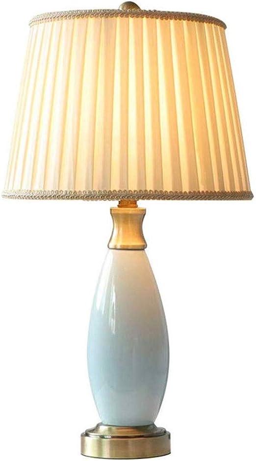XZJJZ Moderna Sala de Mesa de cerámica de la lámpara, Simple ...
