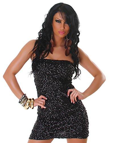 Jela London - Vestido - Con cortes - para mujer Caribic Black