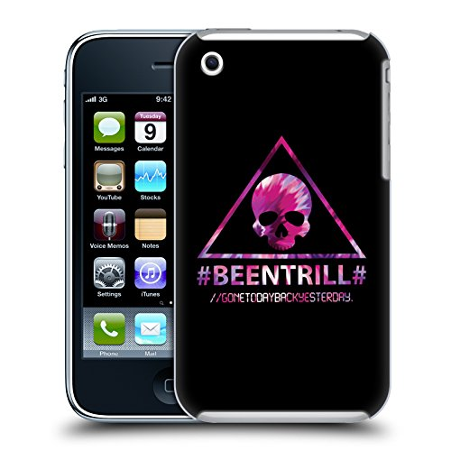 Official Been Trill Triangle Skull Colourful Prints Hard Back Case for Apple iPhone 3G / 3GS